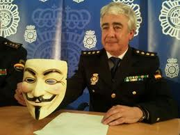 "Interpol arrests of Anonymous an ""idea"""