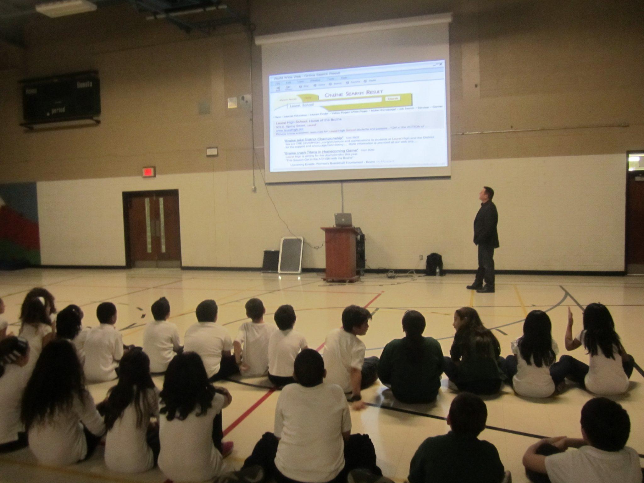 Internet safet awareness training