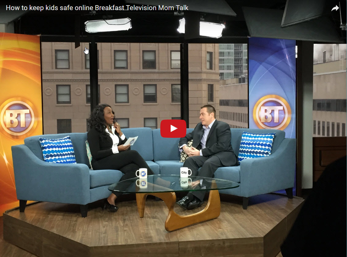 Breakfast Television Mom Talk How to keep kids safe online
