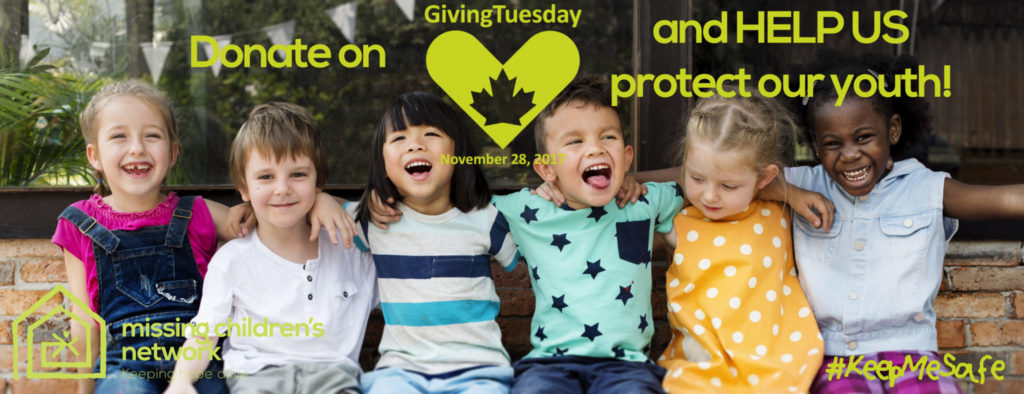 - KeepMeSafe Banner 1024x394 - Help donate to The Missing Children's Network for the#GivingTuesday #KeepMeSafe campaign for the month of November