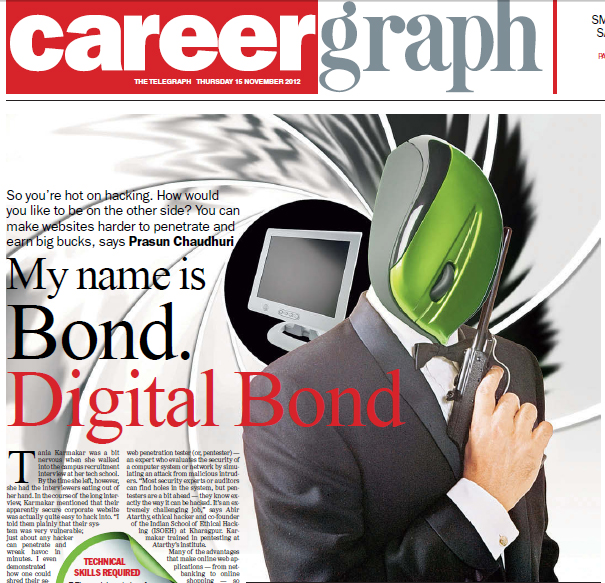 The name's Bond, Digital Bond ! – The Ethical Hacker guide to a job