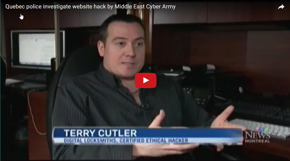 Quebec police investigate website hack by Middle East Cyber Army