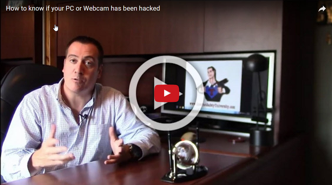 Give me 4 minutes, and I'll tell you if your PC or Webcam has been hacked.