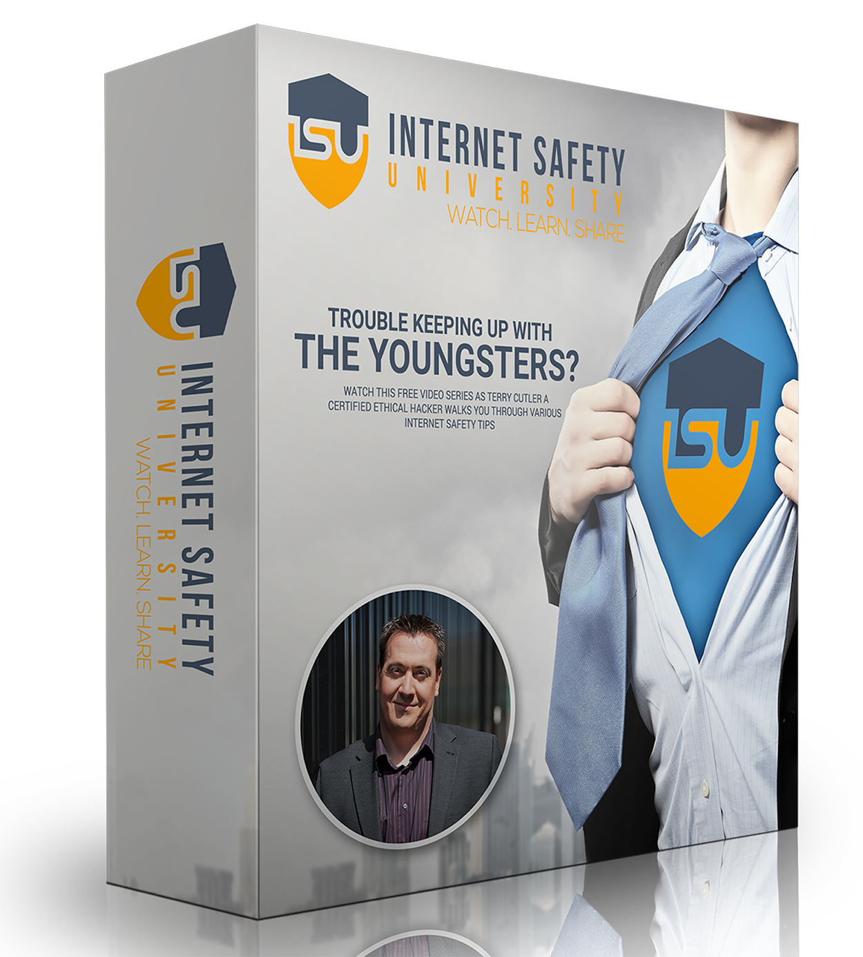 """Terry Cutler launches """"Insider secrets from an Ethical Hacker on Internet Safety"""" on Udemy.com"""