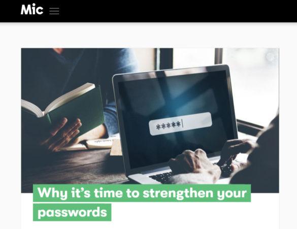 4 ways to strengthen your password